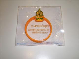 タイ国王記念リストバンド