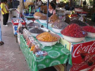 アユタヤの市場