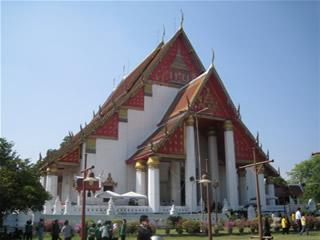 アユタヤの寺院